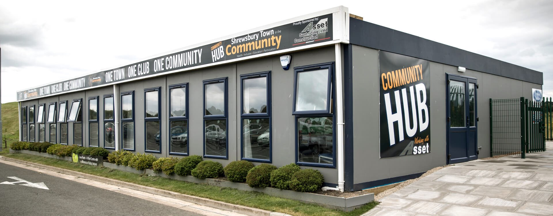 Shrewsbury Town in the Community, function room to hire